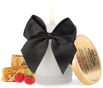 Masážní svíčka Melt My Heart - lesní jahody a med