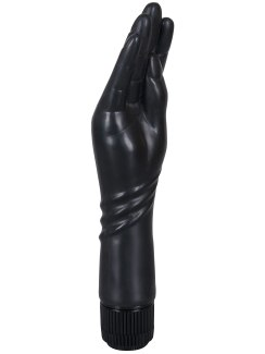 Vibrátor ve tvaru štíhlé ruky The Black Hand