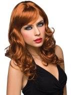 Sexy paruky pro ženy i muže: Paruka Aubrey - zrzavá barva