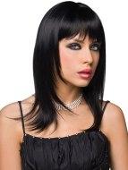 Sexy paruky pro ženy i muže: Paruka Steph - černá barva