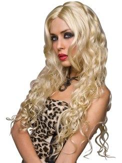 Paruka Jennifer - platinová blond barva