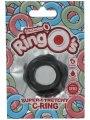 Černý erekční kroužek The RingO