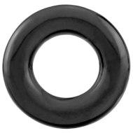 Erekční škrtící kroužky bez vibrací: Černý erekční kroužek The RingO