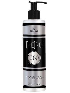 Krém na holení s feromony pro muže (HE)RO 260 (Sensuva)
