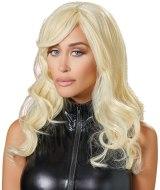 Sexy paruky pro ženy i muže: Dlouhá lehce vlnitá blond paruka Britney