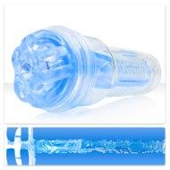 Masturbátory bez vibrací (honítka) - pro muže: Simulátor orálního sexu TurboTrust Ignition Blue Ice