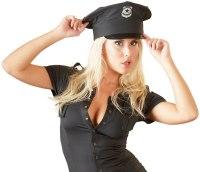 Sexy dámské kostýmy (roleplay): Policejní čepice (Cottelli Collection)