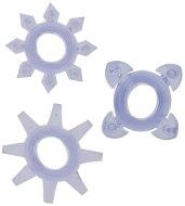 Erekční škrtící kroužky bez vibrací: Erekční kroužky Tickle se stimulačními výstupky (3 ks)