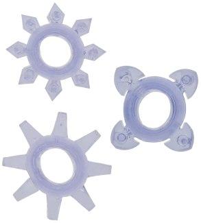 Erekční kroužky Tickle se stimulačními výstupky (3 ks)