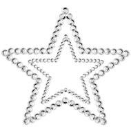 Vzrušující ozdoby a samolepky na bradavky: Samolepicí ozdoby na prsa MIMI Star (Bijoux Indiscrets)