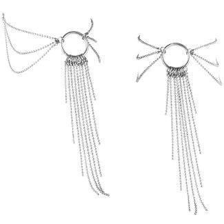 Stříbrné ozdobné řetízky na kotníky Magnifique Silver