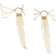 Vzrušující intimní šperky, ozdoby a bižuterie: Zlaté ozdobné řetízky na kotníky Magnifique Gold