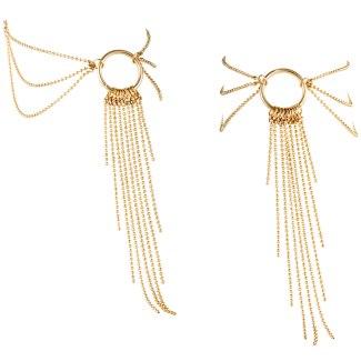 Zlaté ozdobné řetízky na kotníky Magnifique Gold