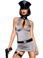 Sexy dámské kostýmy (roleplay): Kostým Policie od Obsessive (včetně policejní čepice)