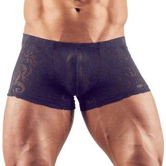 Průsvitné pánské boxerky s natištěným motivem