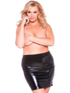 Lesklá sukně Sexy Siren