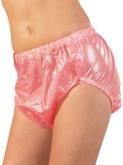 Růžové nepromokavé unisex kalhotky na plenky
