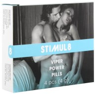 Afrodiziaka pro muže: Tablety na posílení mužského libida Viper Power Pills