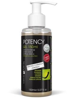Lubrikační gel pro silnější erekci POTENCY