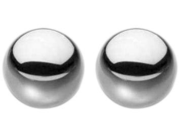 Neobvyklé kovové vaginální kuličky Ben-Wa Steele Balls