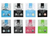 Lubrikační gely na vodní bázi: Ochutnávkový balíček lubrikačních gelů System JO