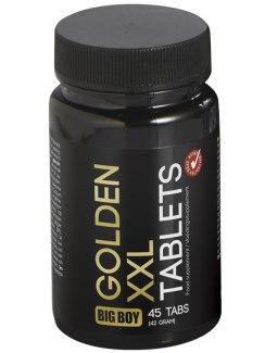 Tablety pro zvětšení penisu BIG BOY Golden XXL