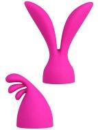 Návleky na prsty a hračky: Stimulační násady PalmPleasure k masážní hlavici PalmPower