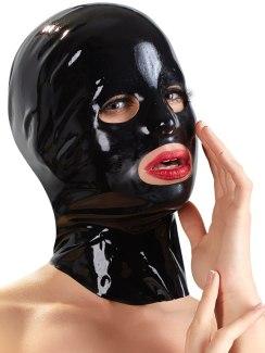 Unisex latexová maska - anatomicky tvarovaná
