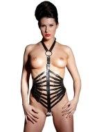 Postroje a fetiš oblečení: Kožený postroj se zapínáním za krkem (ZADO)