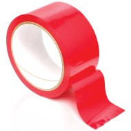 Pomůcky na bondage (svazování): Červená páska na bondage Pleasure Tape