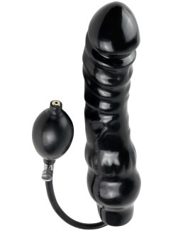 Nafukovací anální dildo Ass Blaster (Pipedream)