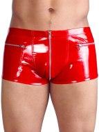 Pánské lakované prádlo (lack, vinyl): Lakované boxerky, červené