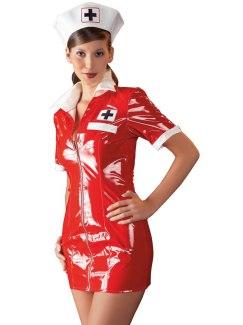 Lakovaný kostým Zdravotní sestra