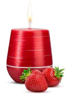 Afrodiziakální vonná svíčka Sweet Strawberries (Magnetifico)