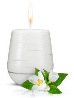Afrodiziakální vonná svíčka Jasmine Romance (Magnetifico)