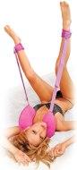 Erotický nábytek a bytové doplňky: Polštář za krk s pouty na nohy Position Master