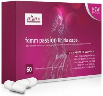 FEMM PASSION - zvýšení libida, lepší sex a intimní zdraví žen
