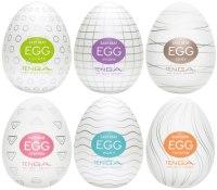 Masturbátory TENGA: Výhodné balení masturbátorů TENGA Egg (6 ks)