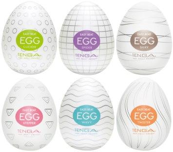 Výhodné balení masturbátorů TENGA Egg (6 ks)