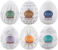 Masturbátory TENGA: Výhodné balení masturbátorů TENGA Egg Stronger (6 ks)