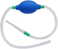 Anální hygiena, klystýry: Silikonový průtokový klystýr s balónkem