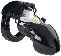 Pásy cudnosti pro muže (elektrosex): Pás cudnosti Pubic Enemy No 1 Black Edition - elektrosex