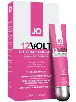 Stimulační gel na klitoris System JO 12Volt (10 ml)