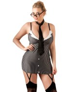 Sexy dámské kostýmy (roleplay): Sexy kostým Sekretářka (PLUS SIZE)