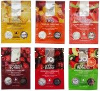 Lubrikační gely s příchutí, na orální sex: Degustační balíček lubrikačních gelů System JO