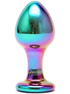 Luxusní skleněný anální kolík Melany (Sensual Glass)