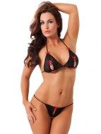 Podprsenky a sety spodního prádla: Souprava erotického prádla (Amorable)