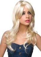 Sexy paruky pro ženy i muže: Dlouhá platinová blond paruka Jessie