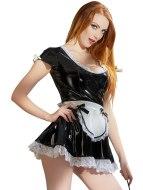 Sexy dámské kostýmy (roleplay): Lakovaný kostým Servírka (Black Level)