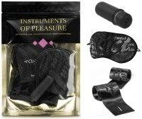 Bondage sady a postroje s pouty: Sada erotických pomůcek Instruments of Pleasure Purple
